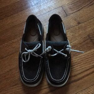 Perfect Suede Sperry's sz 7.5